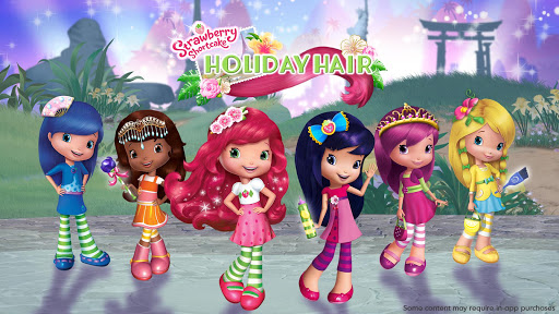 Strawberry Shortcake Holiday Hair 1.6 Screenshots 1