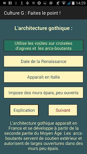 Culture-G Faites le point! Pro screenshot