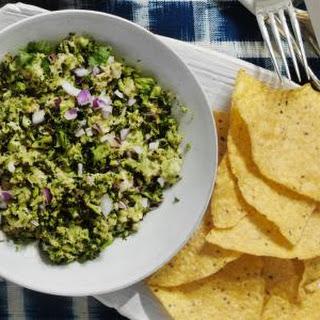 Charred Broccoli Guacamole.