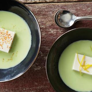 Andrea Nguyen's Silken Tofu and Edamame Soup