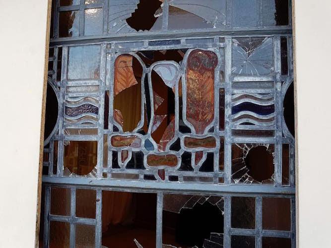 DNA profile of window smasher