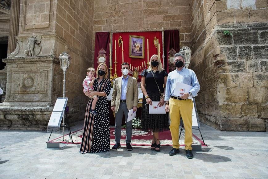 El altar del Rosario del Mar obtuvo un accésit.