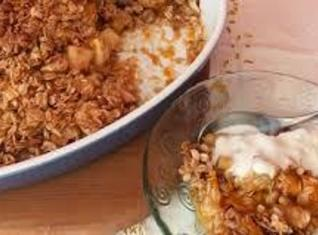 Cheddar Apple Crisp Recipe