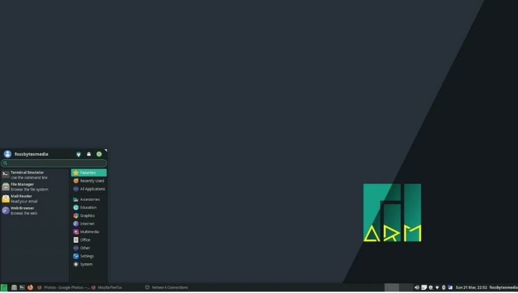 welcome to manjaro linux