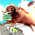 Angry Bull Simulator City Attack : Bull Rampage icon
