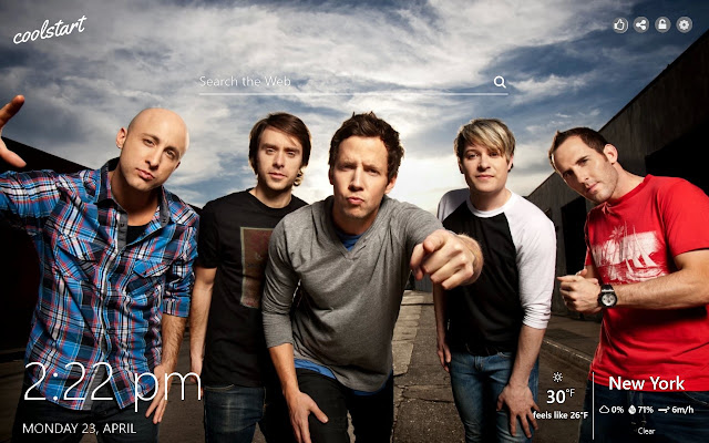 Simple Plan HD Wallpapers Pop Rock Theme