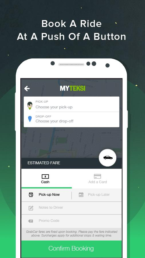 MyTeksi: Book a ride- screenshot