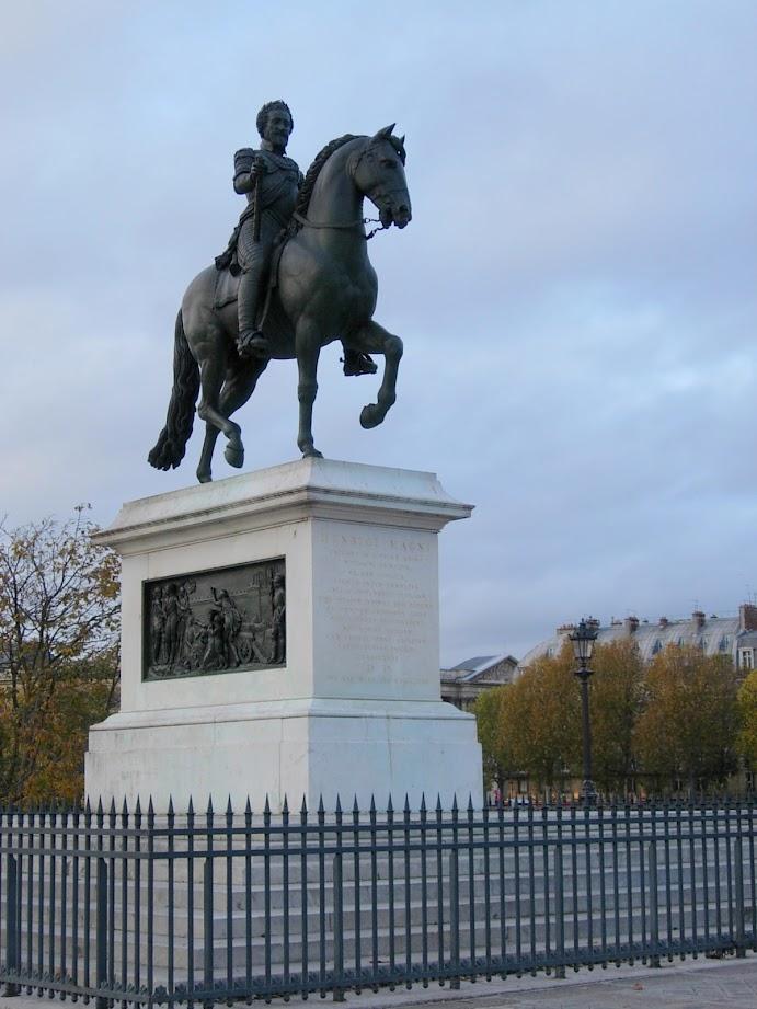 Statue Henri IV à Paris