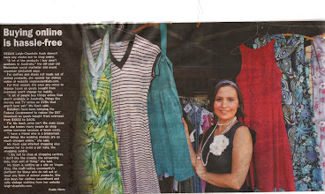 Photo: An article I was asked to speak about in regards to online shopping - got a bit of vegan propaganda in as well.  I NO LONGER sell clothing.  http://leigh-chantelle.com/news/149-my-article-in-the-courier-mail.html  The Courier-Mail November 1 2010