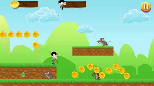 Mr Pean Adventure Run 1.1.2 screenshots 4