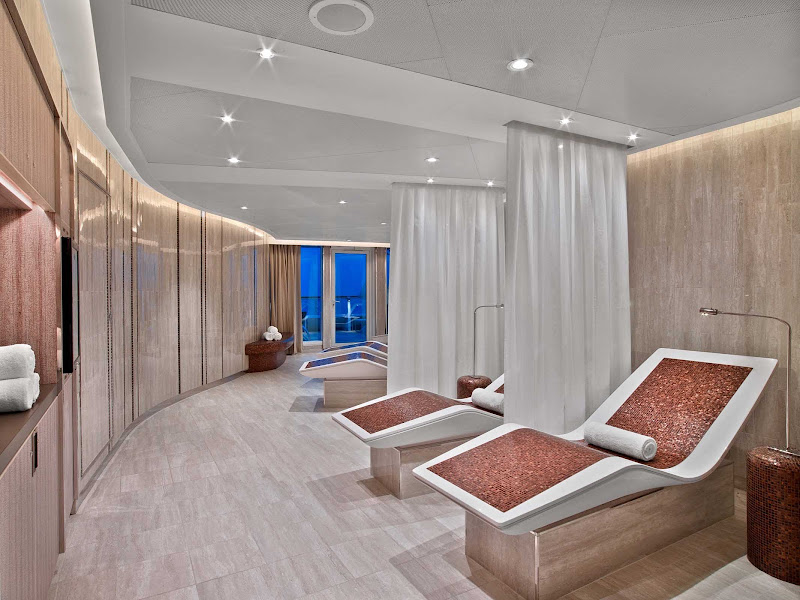 The spa and wellness facility overseen by Dr. Andrew Weil aboard Seabourn Encore.
