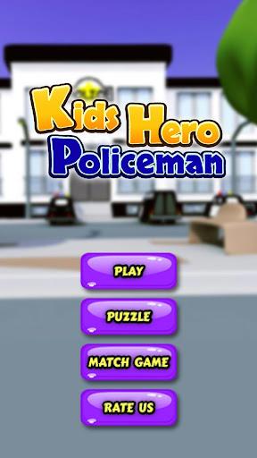 Kids Hero Policeman
