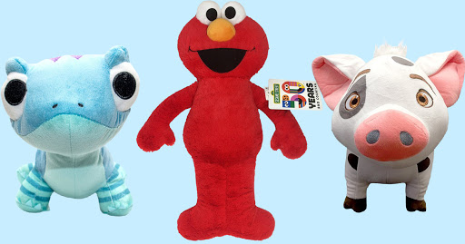 Buy One, Get One FREE Plush Toys on Zulily.com   Frozen 2 & Sesame Street Characters from $5.85 Each