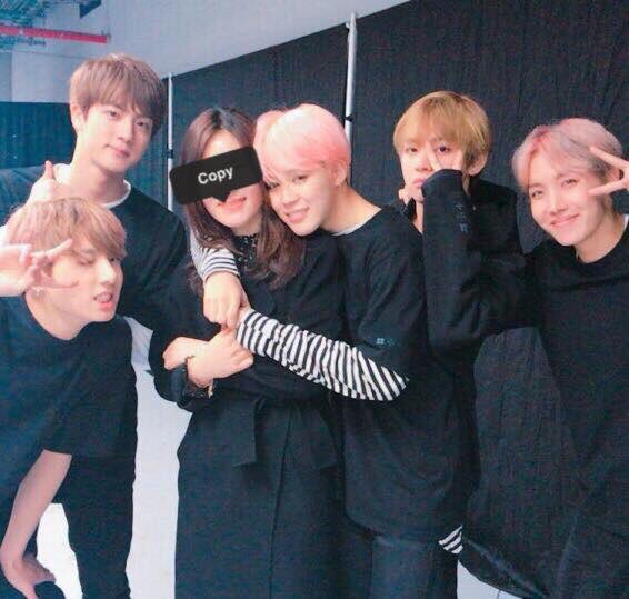 BTS Jimin with His Mother