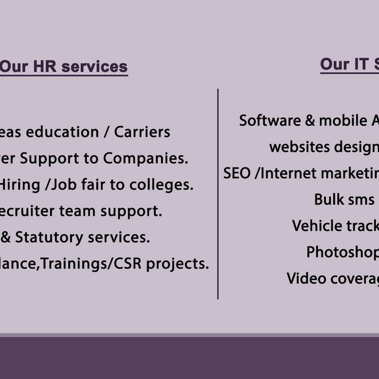 Global Scopes HR Services - Consultant in Coimbatore
