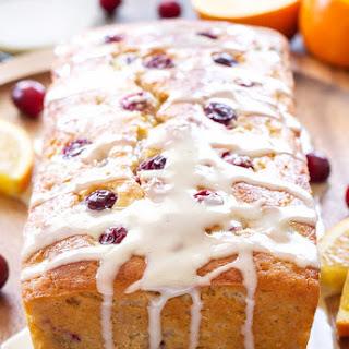 Cranberry Orange Yogurt Cake