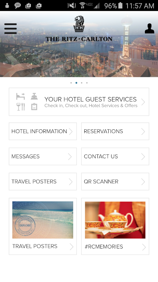 The Ritz-Carlton Hotels- screenshot