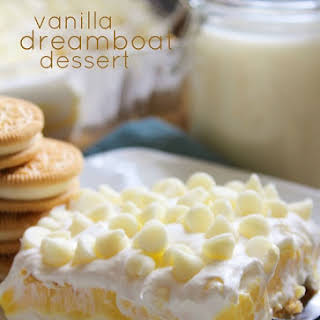 Vanilla Dreamboat Dessert.