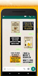 WAStickerApps beers stickers APK screenshot thumbnail 3