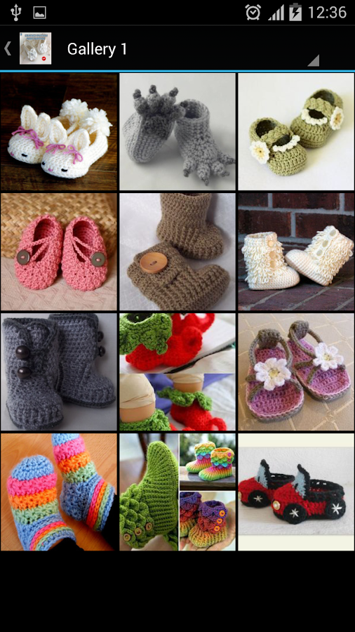Crochet Pattern Baby Slippers- screenshot