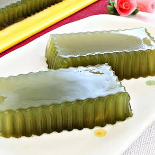 Honey Green Tea Jelly.