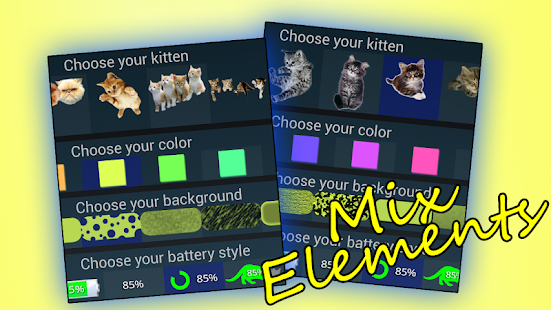 Download Kitten Battery Widget Premium Apk 1 5,ynd