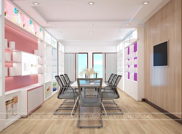 trang trí thiết kế showroom đẹp mắt