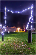 Photo: Our star bright fairy lights create the mood