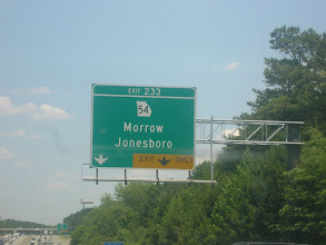 Photo: Saw this sign and since Kalonji's middle name is Morrow, I had to take it.