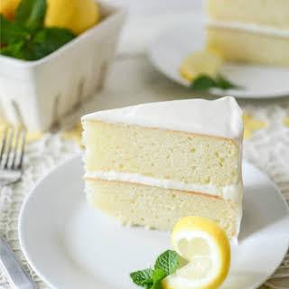 Swimmin' in Lemon Cake.