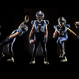 by Ryan Smith - Sports & Fitness American and Canadian football