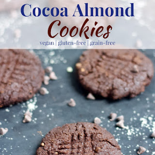 Cocoa Almond Cookies.