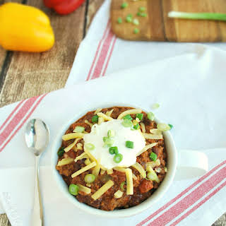 Real Texas Chili (with slow cooker option).