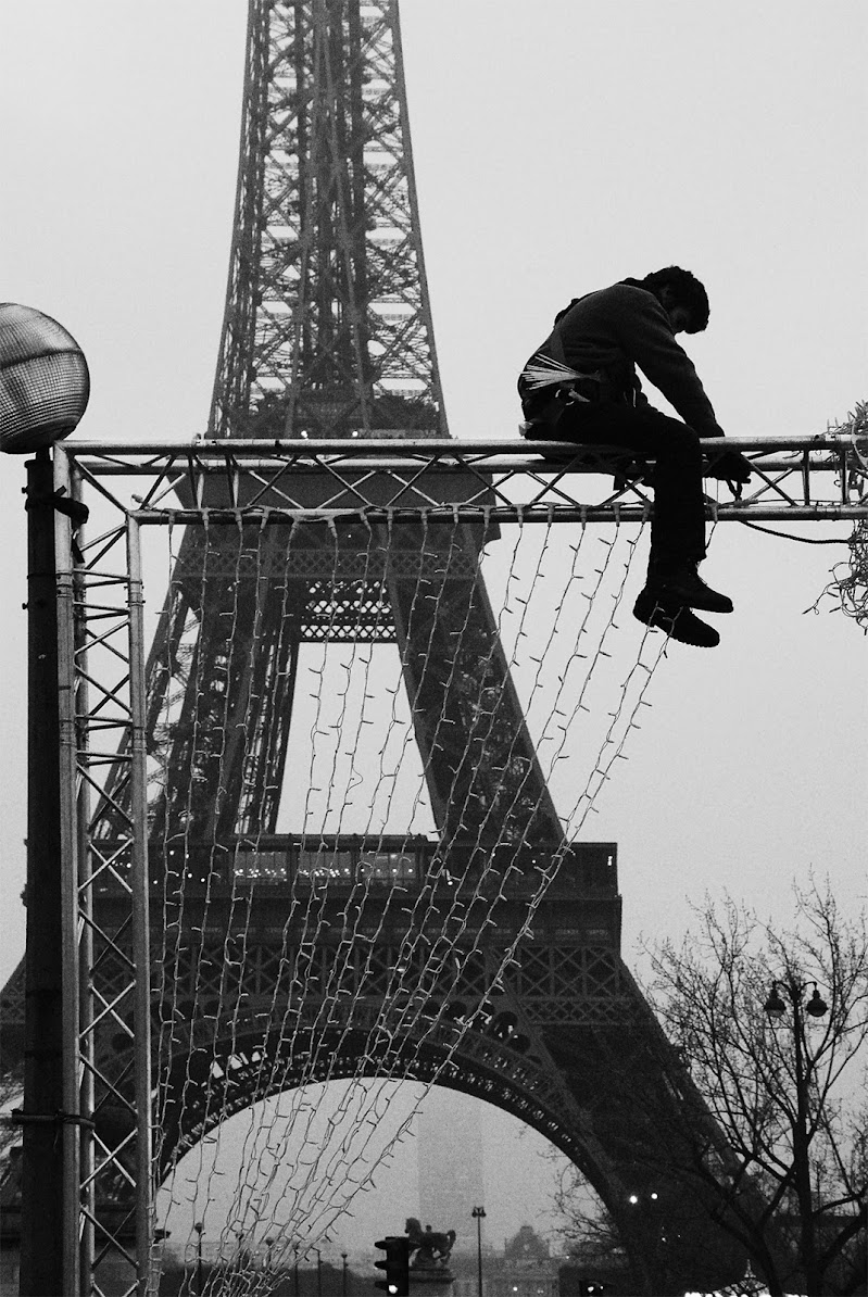 L'uomo delle luci - Paris di GiulioMarchesani