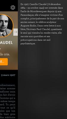 DesLettres - screenshot