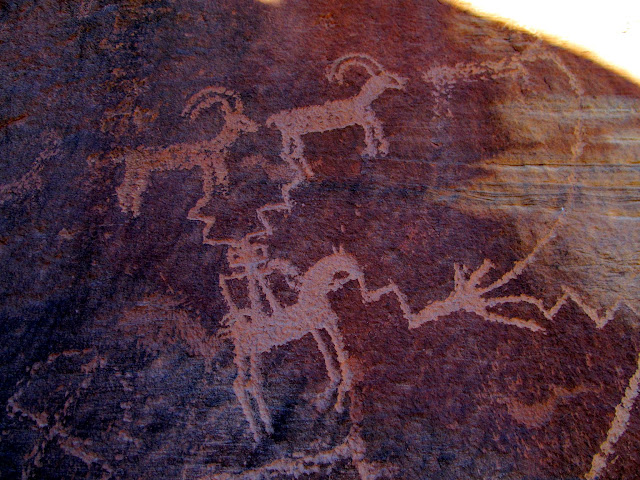 Wonderful Ute petroglyphs