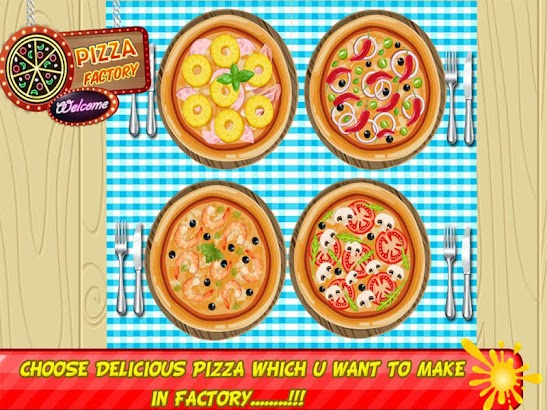 Pizza Factory Maker & Delivery screenshot
