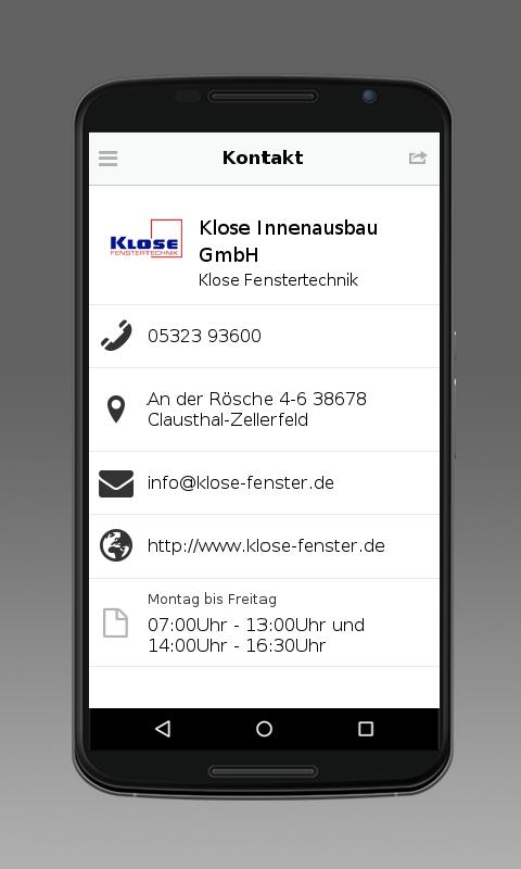 Klose Fenster klose fenstertechnik programu za android kwenye play