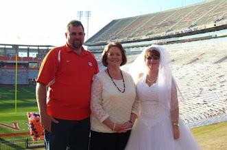 "Photo: Clemson Memorial Stadium AKA ""Death Valley""  www.WeddingWoman.net"