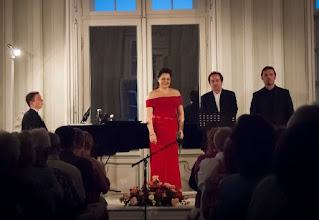 Photo: Halbturner Schlosskonzerte 2015 am 8.8. , Mit Anna Ryan, Sergio Tallo-Torres und Russi Nikoff und Pavel Kachnov. Foto: Bettina Horvath