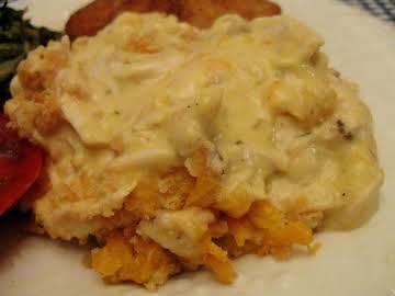 Garlicy Chicken Casserole