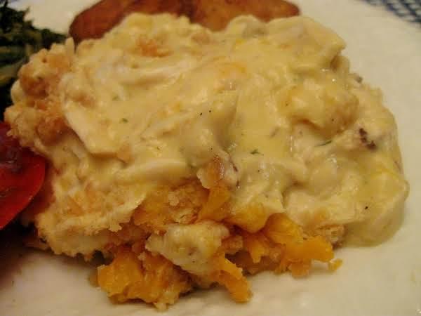 Garlicy Chicken Casserole Recipe