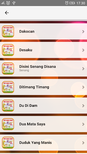 Lagu Anak Indonesia TK & PAUD  screenshots 4