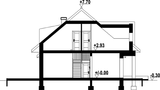 Chmielniki m11 - Przekrój