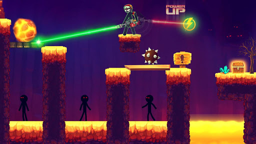 Stickman Shooting: Free offline 2D shooting games  screenshots 7