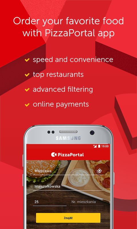 PizzaPortal - Takeaway Food- screenshot