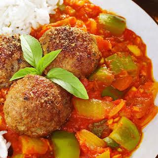 Chinese Kofta Curry.