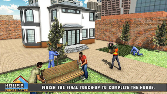House building construction games city builder apps on for Home building simulator