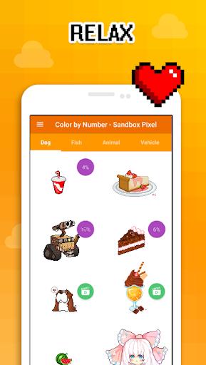 Color by Number - Sandbox Pixel 2.0 screenshots 3