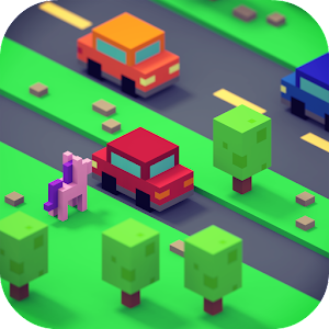 Crossy Hoppers: Road Jump Game  hack
